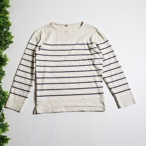 UNIQLO Striped Long Sleeve Top